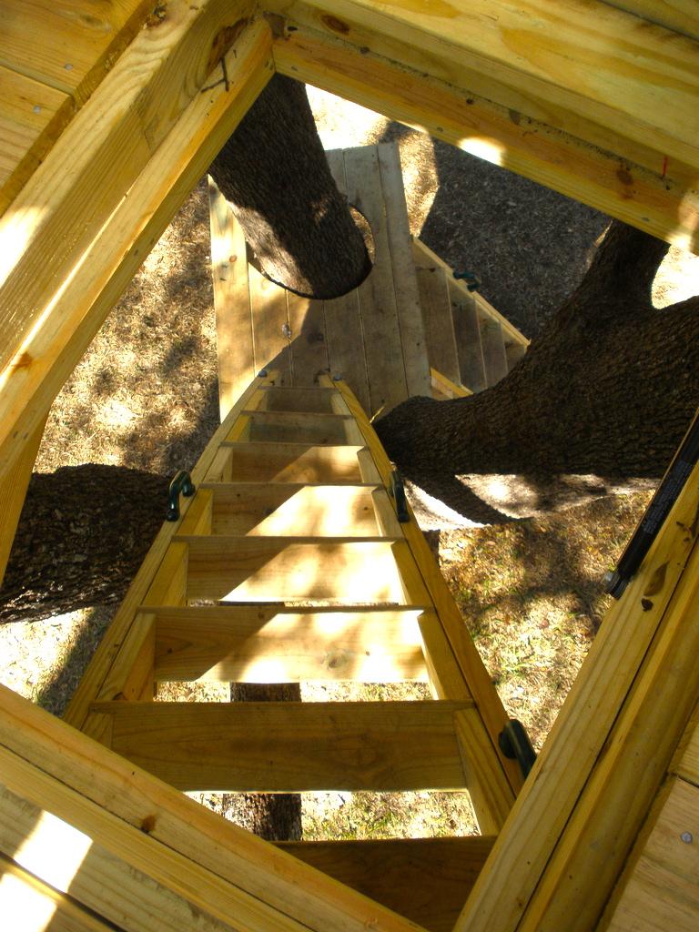 Platform Deck Stairs