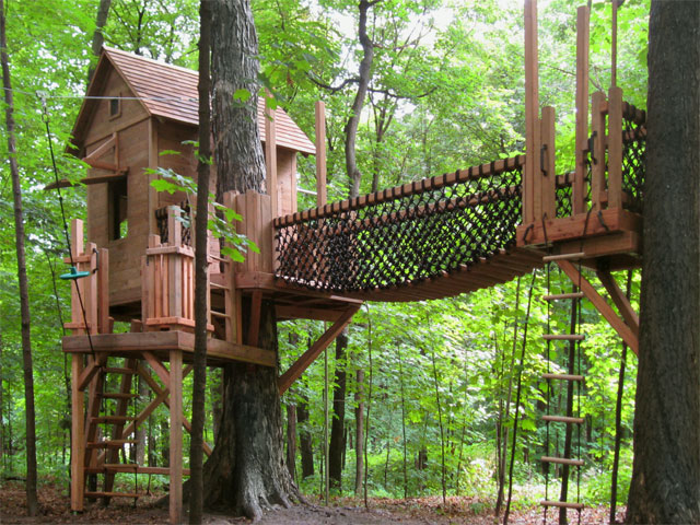 Tree houses for kids page 3 for Treehouse designers